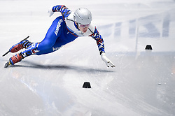 February 8, 2019 - Torino, Italia - Foto LaPresse/Nicolò Campo .8/02/2019 Torino (Italia) .Sport.ISU World Cup Short Track Torino - 500 meter Men Preliminaries.Nella foto: Alexander Shulginov..Photo LaPresse/Nicolò Campo .February 8, 2019 Turin (Italy) .Sport.ISU World Cup Short Track Turin - 500 meter Men Preliminaries.In the picture: Alexander Shulginov (Credit Image: © Nicolò Campo/Lapresse via ZUMA Press)