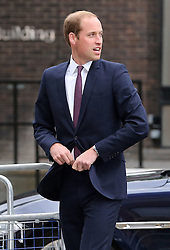 Image licensed to i-Images Picture Agency. 08/07/2014. London, United Kingdom. The Duke of Cambridge arriving at the Business in the Community Awards Gala in London. Picture by Stephen Lock / i-Images