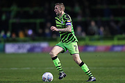 Forest Green Rovers Carl Winchester(7) on the ball during the EFL Sky Bet League 2 match between Forest Green Rovers and Plymouth Argyle at the New Lawn, Forest Green, United Kingdom on 16 November 2019.