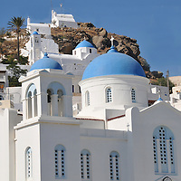 Greece Buildings, Cafes, Beaches & Boats