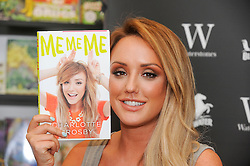 © Licensed to London News Pictures. 14/07/2015<br /> Charlotte Crosby from Gordie Shore signing copies of her new book 'Me Me Me' at Waterstones book shop at Bluewater in Kent. Photo credit: Grant Falvey/LNP