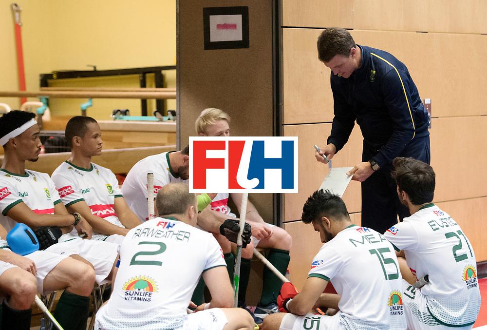 BERLIN - Indoor Hockey World Cup<br /> Kazakhstan - South Africa<br /> foto: LE ROUX Pierre <br /> WORLDSPORTPICS COPYRIGHT FRANK UIJLENBROEK