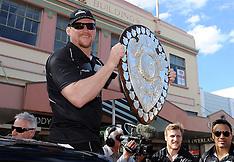 Napier-Rugby, Hawkes Bay Ranfurly Shield parade