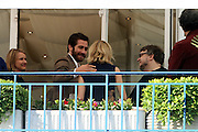CANNES FILM FESTIVAL JURY ARRIVAL DINNER<br /> <br /> Sienna Miller and  Jake Gyllenhaud - Members of the Jury of the 68th Cannes Film Festival at the Hotel Martinez arrive for their first meal together, Hotel Martinez , Cannes , Tuesday 12.MAI.2015<br /> ©Exclusivepix Media