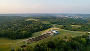 Compost Facility, Ridges, Athens, Campus, Summer