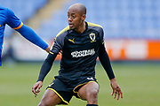 AFC Wimbledon midfielder Nadjim Abdou (8), on loan from Millwall,in action  during the EFL Sky Bet League 1 match between Shrewsbury Town and AFC Wimbledon at Greenhous Meadow, Shrewsbury, England on 24 March 2018. Picture by Simon Davies.