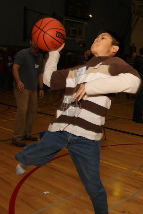 Basketball Challenge at HIMS Carnival Night 2010