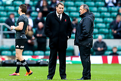 All Blacks coach Steve Hansen - Mandatory by-line: Robbie Stephenson/JMP - 10/11/2018 - RUGBY - Twickenham Stadium - London, England - England v New Zealand - Quilter Internationals