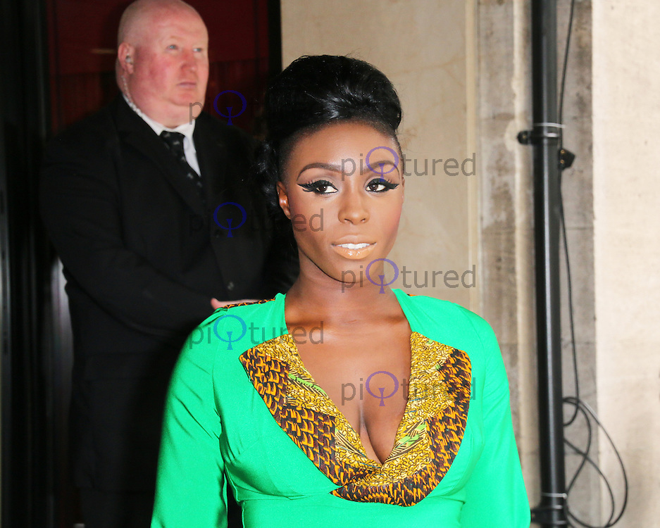 Laura Mvula, Ivor Novello Awards, Grosvenor House Hotel, London UK, 22 May 2014, Photo by Richard Goldschmidt