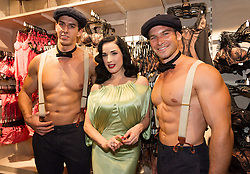 'Feel London By Karstadt' Launch Event. <br /> Dita von Teese attends the 'Feel London By Karstadt' Launch Event at Karstadt Store Duesseldorf on September 4, 2013 in Dusseldorf, Germany.  Picture by Schneider- Press / i-Images<br /> UK & USA ONLY