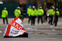 FILE PICTURE © under license to London News Pictures. 17/11/2010. The actions of groups such as the English Defence League can provide opportunities for recruiting Muslims to radicalism, according to counter-terrorism officers.