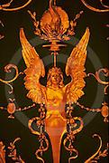 Pennsylvania Capitol,  Bronze Ceiling Art, House Chamber, Architect Joseph Huston, Harrisburg, PA