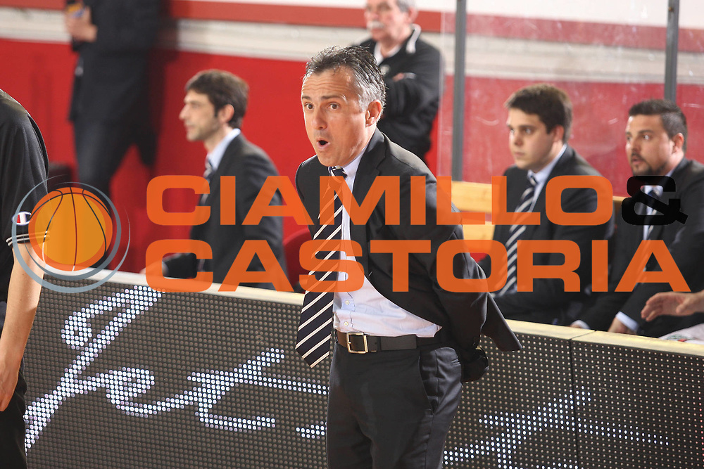 DESCRIZIONE : Roma Lega A 2008-09 Lottomatica Virtus Roma Carife Ferrara<br /> GIOCATORE : Giorgio Valli<br /> SQUADRA : Carife Ferrara <br /> EVENTO : Campionato Lega A 2008-2009<br /> GARA : Lottomatica Virtus Roma Carife Ferrara<br /> DATA : 29/03/2009<br /> CATEGORIA : Coach Ritratto<br /> SPORT : Pallacanestro<br /> AUTORE : Agenzia Ciamillo-Castoria/G.Ciamillo