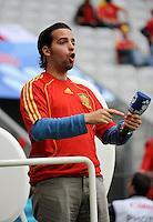 FUSSBALL EUROPAMEISTERSCHAFT 2008  Schweden - Spanien    14.06.2008 Teamsprecher Xavi NEMO (ESP).