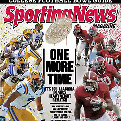 Sporting News Magazine - BCS Cover