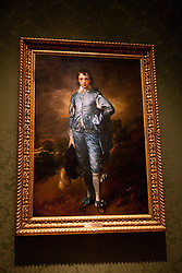 The Blue Boy painting by Thomas Gainsborough (ca 1770), The Huntington Library, Art Collection, and Botanical Gardens San Marino, California, United States of America