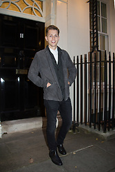 Singer James McVey posing for photos outside 11 Downing Street to celebrate seventeen years of the Diana Award. This award, set up in memory of Princess Diana, today has the support of both her sons the Duke of Cambridge and Prince Harry. Photo date: Wednesday, October 19, 2016. Photo credit should read: Richard Gray/EMPICS Entertainment