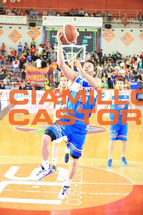 DESCRIZIONE : Roma Lega A 2012-2013 Acea Roma Enel Brindisi<br /> GIOCATORE : Fultz Robert<br /> CATEGORIA : tiro<br /> SQUADRA : Enel Brindisi<br /> EVENTO : Campionato Lega A 2012-2013 <br /> GARA : Acea Roma Enel Brindisi<br /> DATA : 21/04/2013<br /> SPORT : Pallacanestro <br /> AUTORE : Agenzia Ciamillo-Castoria/M.Simoni<br /> Galleria : Lega Basket A 2012-2013  <br /> Fotonotizia : Roma Lega A 2012-2013 Acea Roma Enel Brindisi<br /> Predefinita :
