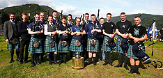 World champions Inveraray Pipe Band | Inveraray | 13 August 2017