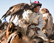 The horsemen of the Altai Golden Eagle Festival in Mongolia