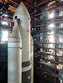 Abandoned since the 1970's Soviet rocket still stands tall in disused hanger  In the late 70's of th