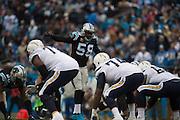 December 11, 2016: Carolina Panthers vs San Diego Chargers. Thomas Davis