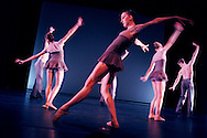 Rehearsal at Boston University Dance Showcase. Boston, MA. Fall 2015.<br />