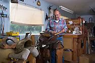 Saddle-maker in Montana.