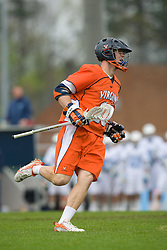 05 April 2008: Virginia Cavaliers midfielder Jack Riley (10) during a 11-12 OT win over the North Carolina Tar Heels on Fetzer Field in Chapel Hill, NC.