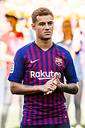 Philippe Coutinho from Brasil during the Joan Gamper trophy game between FC Barcelona and CA Boca Juniors in Camp Nou Stadium at Barcelona, on 15 of August of 2018, Spain, Photo Xavier Bonilla / SpainProSportsImages / DPPI / ProSportsImages / DPPI