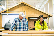 TCC South Campus, Carpentry Class for the Construction Management Technology Program, Fort Worth Texas, October 2016