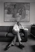 David Plowright in his Granada offices  1st October 1990