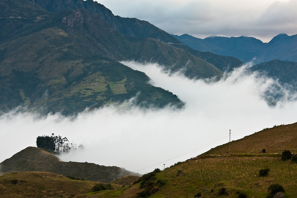 low clouds in southern Ecuador