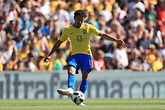 Brazil v Croatia, Anfield, 3 June 2018