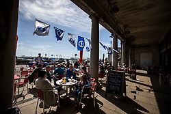 Brighton & Hove Albion restaurants fly the flags - Mandatory by-line: Jason Brown/JMP - 14/05/17 - FOOTBALL - Brighton and Hove Albion, Sky Bet Championship 2017 - Brighton and Hove Albion Promotion Parade