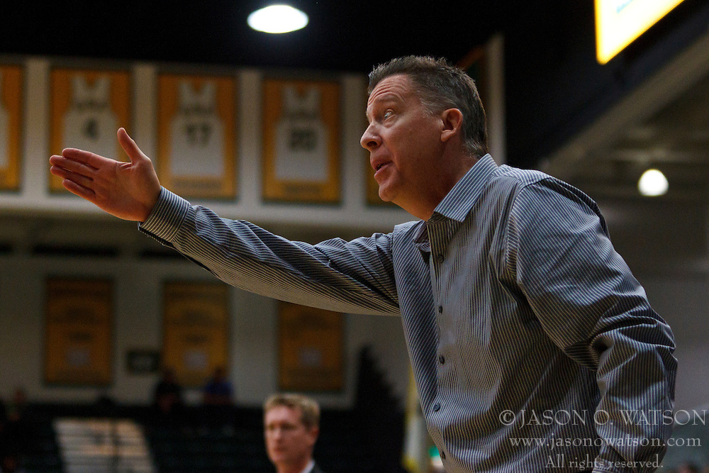 Nov 16, 2011; San Francisco CA, USA;  San Jose State Spartans head coach George Nessman on the sidelines against the San Francisco Dons during the first half at War Memorial Gym.  Mandatory Credit: Jason O. Watson-US PRESSWIRE