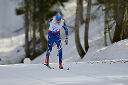 SYTNYK Vitalii competing in the Nordic Skiing XC Long Distance at the 2014 Sochi Winter Paralympic Games, Russia