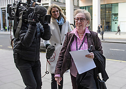 © Licensed to London News Pictures. 06/01/2020. London, UK. MARGARET BECKETT MP, arrives for a Labour Party NEC meeting in London where the upcoming leadership election will be organised. Current leader Jeremy Corbyn pledged to step down after the Conservative party won an 80 seat majority at a general election. Photo credit: Ben Cawthra/LNP