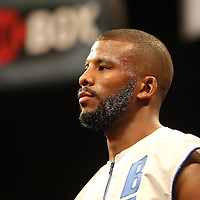Super Middleweight boxer Badou Jack is seen during Showtime Televisions ShoBox:The Next Generation boxing match at the Event Center at Turning Stone Resort Casino on Friday, February 28, 2014 in Verona, New York.  (AP Photo/Alex Menendez)