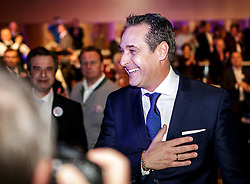 04.03.2017, AUT, FPÖ, 32. Ordentlicher Bundesparteitag, im Bild Heinz Christian Strache //  at the 32nd Ordinary Party Convention of the Freiheitliche Partei Oesterreich (FPÖ) in Klagenfurt, Austria on 2017/03/04. EXPA Pictures © 2017, PhotoCredit: EXPA/ Wolgang Jannach