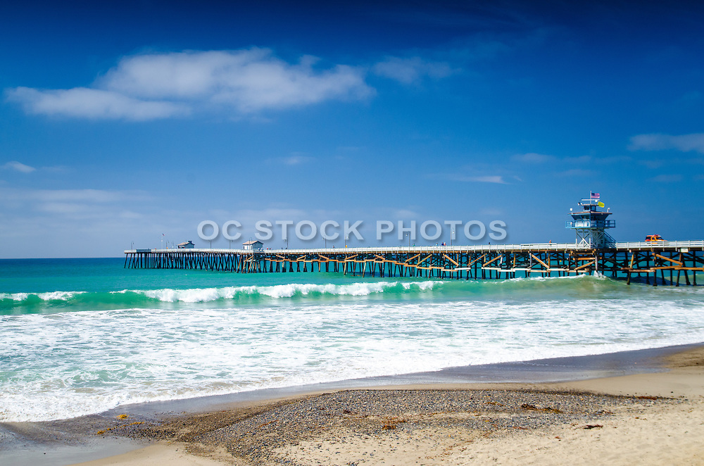 Scenic View of San Clemente Coast and Pier