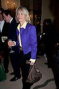 SANDRA HOWARD, Book launch of Lady Annabel Goldsmith's third book, No Invitation Required. Claridges's. London. 11 November 2009