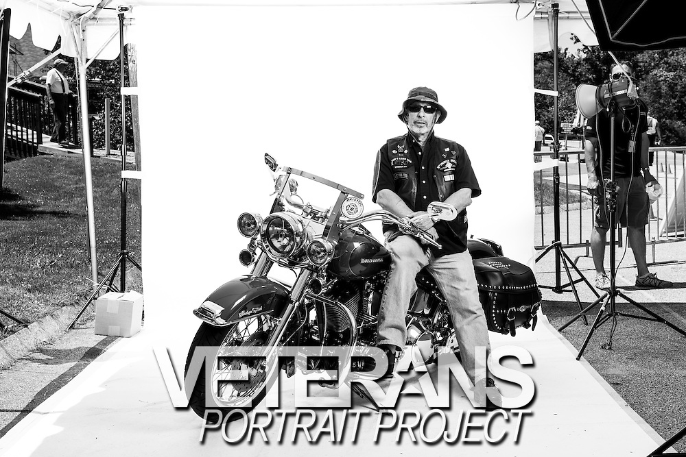 Al Cabral<br /> Army<br /> E-5<br /> Combat Engineer<br /> July 30, 1967 - 1970<br /> Vietnam War<br /> <br /> Veterans Portrait Project<br /> Laconia, NH<br /> Laconia Bike Week