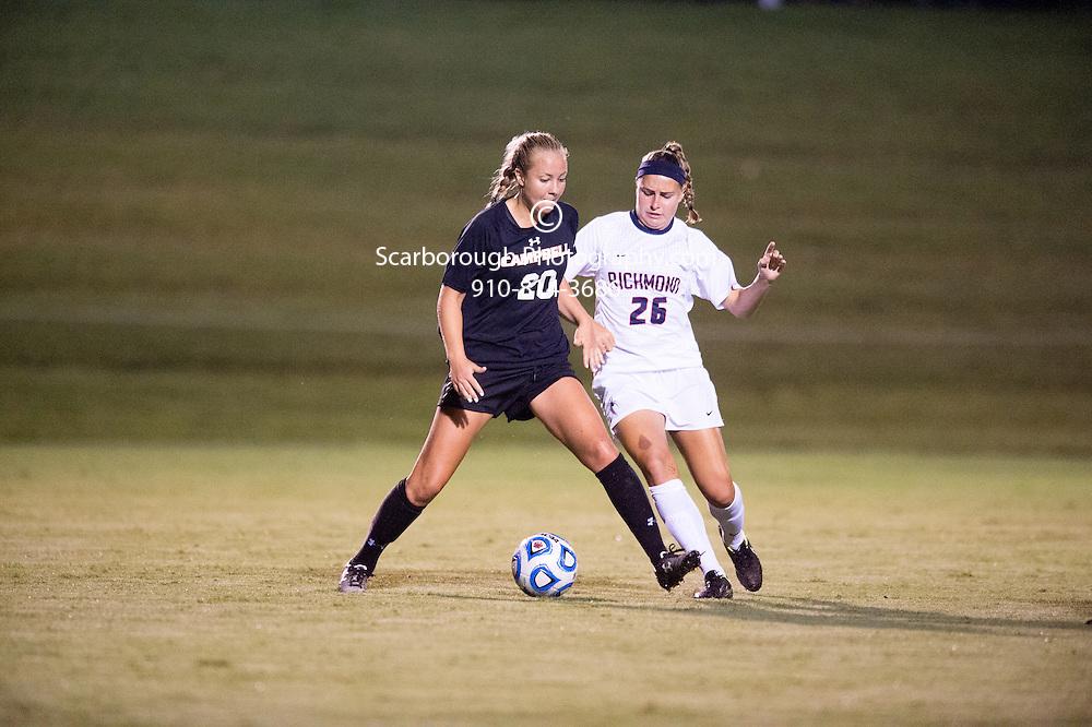 2014 Campbell University Women Soccer vs Richmond