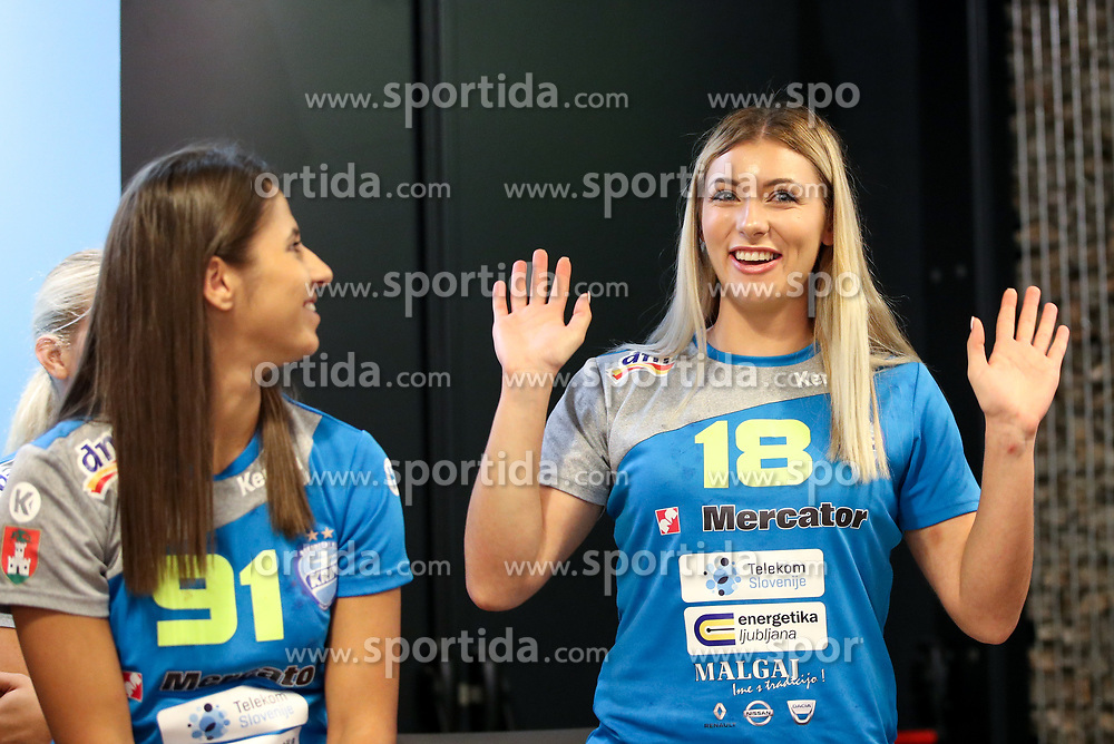 Nina Zulic at Press Conference of RK Krim Mercator at start of the season 2018/19, on August 16, 2018 in Mercator Siska, Ljubljana, Slovenia. Photo by Matic Klansek Velej / Sportida
