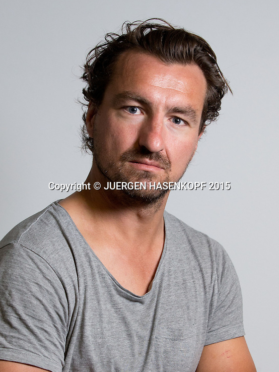 Lars Uebel (GER), Trainer,<br /> <br /> Tennis - Australian Open 2015 - Grand Slam ATP / WTA -  Melbourne Olympic Park - Melbourne - Victoria - Australia  - 21 January 2015.