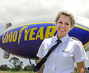Taylor Laverty, Blimp pilot for GoodYear Carson, CA<br /> Photo for Like a Woman