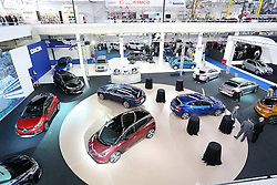 05.04.2016, Zagreb, CRO, Zagreb Auto Show, im Bild &Uuml;bersicht auf die Austellungshalle // Press day at Zagreb fair before official opening of Zagreb Auto Show at Zagreb, Croatia on 2016/04/05. EXPA Pictures &copy; 2016, PhotoCredit: EXPA/ Pixsell/ Dalibor Urukalovic<br /> <br /> *****ATTENTION - for AUT, SLO, SUI, SWE, ITA, FRA only*****