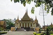 Cambodia,  Phnom Penh, Royal Palace, Throne Hall