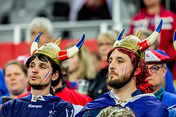 Fans during handball match between National teams of France and Spain in Half Final match of Men's EHF EURO 2018, on January 26, 2018 in Arena Zagreb, Zagreb, Croatia. Photo by Ziga Zupan / Sportida